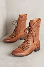 NWT Sz Anthropologie Lien.Do Baja Boots Brown Leather By Seychelles's
