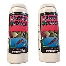 Earth Juice Natural Up pH Adjusting Crystals Water Adjuster 2 x 1 lb Bottle NIB