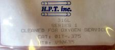 "New - H.P.T. Inc V90635 316L Series 1Hp 3/8"" Oxy. Cln. Ss Tee Max Flow Component"