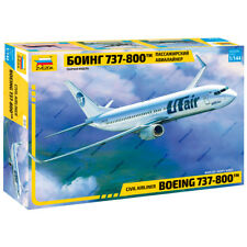 """ZVEZDA 7019 Model Kit """"Civil Airlines BOEING 737-800"""""""