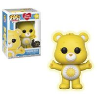 Funko POP! Animation CHASE FUNSHINE BEAR #356 GITD VINYL Care Bears w/Protector