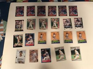Greg Maddux  1990's-2000's Lot of 23 Cards! Rookie Cards! NM to Mint!