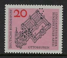 Michel Nr. 428 Germany stamp with Balloon and BK PERFIN, VF-NH