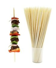 Bamboo Skewers BBQ Wooden Sticks Barbecue Grill Shish Kabob Roasting 100 Ct