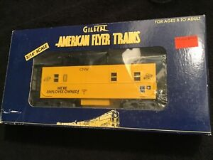 American Flyer 6-48718 cnw chicago Northwestern  caboose S Scale, NIB nos Train