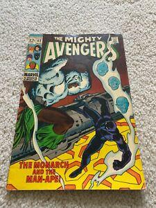 Avengers  62  Fine  6.0  Iron Man  Captain America  Thor  Vision  Black Panther