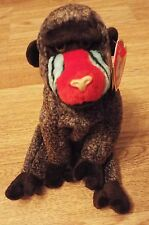TY Beanie Babies Monkey - CHEEKS  May 18 1999  with ear tag ex. condition