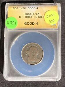 1808 Half Cent K351