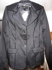 Sarah Kern, 36 NEUE Jacke, schwarz - Lackstreifen, toll zu kombinieren