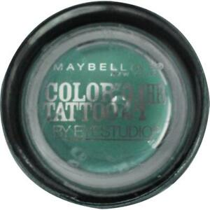 MAYBELLINE 4g COLOR TATTOO EYE SHADOW 50 EDGY EMERALD