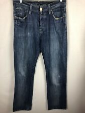 "G-STAR RAW 3301 Jeans W33"" L38"" Relaxed Loose Jeans Mid Wash Tall Straight Leg"