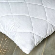 BEDDING HEAVEN Pair of Soft Touch Quilted PILLOW PROTECTORS - Slight Seconds.