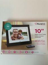 Aluratek Digital Photo Frame ADMPF410T ,4GB/GO, 10