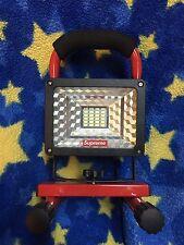 SUPREME 16 F/W WIRELESS CORDLESS FLOOD LIGHT LED 30W RED SUPER BRIGHT PORTABLE