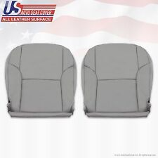 2003-2009 Toyota 4Runner Driver & Passenger Bottom Leather Seat Covers Gray