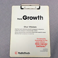 RadioShack Advertising Think Growth Clipboard Collectible Electronics