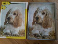 ***   60 Teile Puzzle, Baby Hund Welpe Junges, bitte lesen