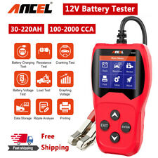12V Car Battery Load Circuit Tester Analyzer 100-2000CCA Charging Cranking Test