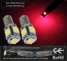 Ba7s P282 283 L72 Lucas LLB282 LED SMD Xenon Red Dash Speedo Bulbs Lights 12v