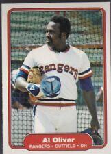 1982 FLEER BASEBALL AL OLIVER #326 RANGERS NMMT/MINT *57760