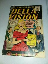 Della Vision #1 ATLAS COMICS 1955 GOLDEN AGE STAN LEE AL HARTLEY GOOD GIRL ART