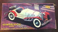 VINTAGE 1966 LINDBERG 1929 MERCEDEZ BENZ 1:24 SCALE KIT#668