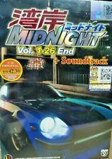 DVD Wangan Midnight Vol. 1-26 End + Bonus Soundtrack English SUB +TRACK Shipping