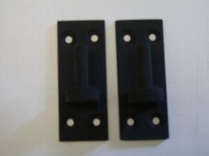 Wrought iron gate hinge / bracket 10mm pin for garden gates x