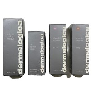 Lot Of 4 - Dermalogica Anti-Bac Cooling Masque 2.5 fl oz Etc OLD STOCK EXP 2007