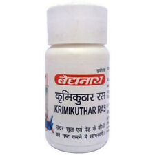 Baidyanath Herbal Krimikuthar Ras For Intestinal Worms and Related Symptoms