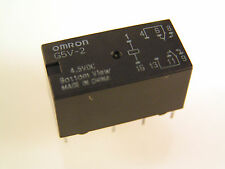 BT 47W/5 type Relay by Omron Type G5V-2 4.5VDC DPDT   2 pieces OM349