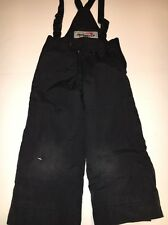 OBERMEYER Kids Ski snowpants bibs  I-Grow Sleeve and Pant Cuff System Size 4T