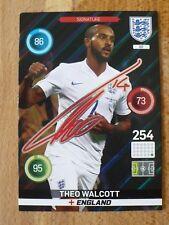 Panini England 2016  Theo Walcott Signature football card # 88