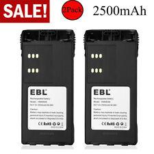 2pack Hnn9008 Battery for Motorola Pro5150 Ht750 Ht1250 Gp328 Ht1550 Hnn9009