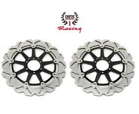 Front Brake Disc Rotors Set For Ducati Sport 1000 ST3 Wave Rotors