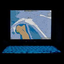 General Dynamics GD8000 160GB SSD 6GB RAM Rugged GPS Marine Chartplotter Laptop