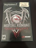 Mortal Kombat: Deadly Alliance (Sony PlayStation 2, PS2, 2002) - Tested, CIB.