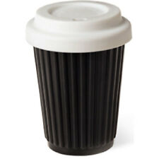 BYO Silicone Reusable Travel Coffee Cup 340ml 12 Oz Collingwood Magpies Colours