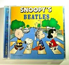 Snoopy's Beatles Classiks on Toys (CD, 1994, Direct Source) Rare OOP