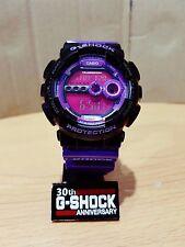 Vintage G-Shock GD-100 DGK Custom Purple Black Hip-Hop Limited.