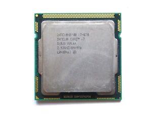 i7-870 - INTEL CORE | SLBJG | 2.93GHz | 8MB | 4Core | 2.5GT/s | LGA1156
