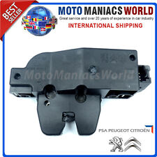 PEUGEOT 607 407 SW CITROEN C4 Rear Tailgate Central Locking Lock Actuator Latch