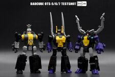 New BadCube Toy Transformers BC OTS-05/06/07 Testshot Insecticons In Stock
