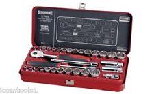 """Sidchrome 32 Piece 3/8"""" Drive Socket Set – Metric and AF SCMT13105"""
