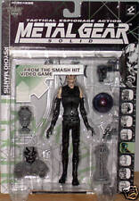 ACTION FIGURE METAL GEAR SOLID SNAKE 1997 PSYCO MANTIS 100% NEW IN BLISTER