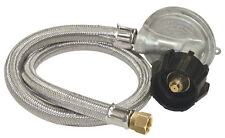 "Bayou M5LPH 1 PSI LP Gas Propane Regulator with 36"" Stainless Braided Hose"