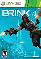 Brink  (Xbox 360, 2011) NEW FACTORY SEALED!