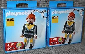 Playmobil 5016 ADAC PANNENHELFER als SCHLÜSSELANHÄNGER  2 Stück Neu