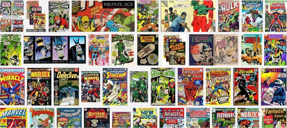 Vintage Vault of Comics