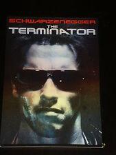 DvD movie The Terminator, Arnold Schwarzenegger, Michael Biehn, Hologram Cover